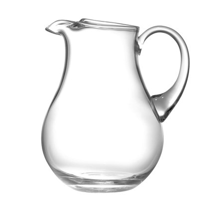 Majestic Gifts Inc. Majestic Gifts Clear European Glass Kool Aid Pitcher with Handle (European Pitcher)