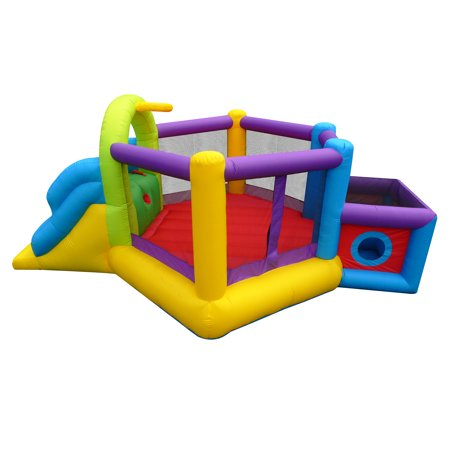 Magic Time Backyard Inflatable Fort N Sport Bouncer