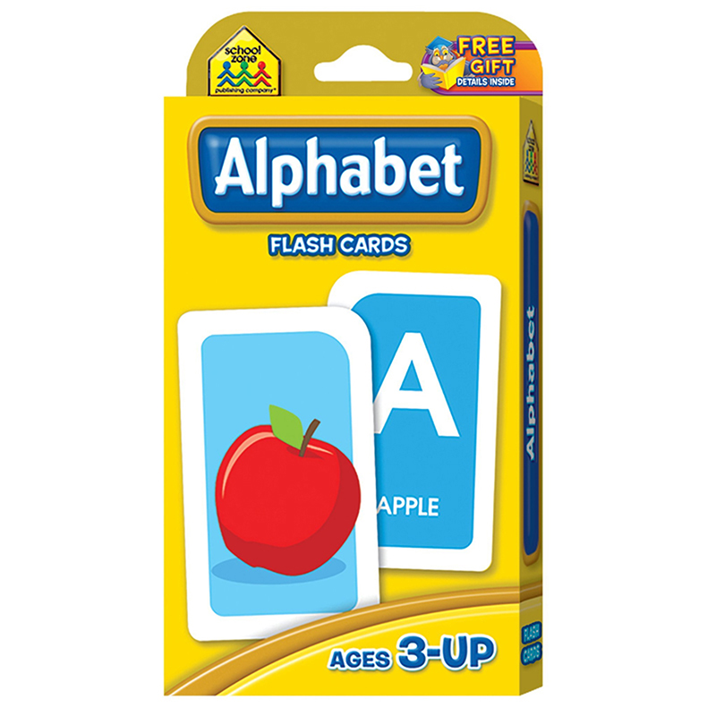 (12 EA) ALPHABET FLASH CARDS