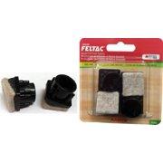 """Madico 11/16"""" Angled Square Black Fused Felt Insertion Glides Floor Savers"""