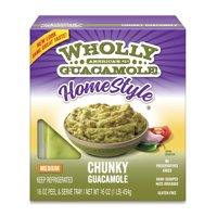 Wholly Guacamole Homestyle Chunky Medium, 16 oz