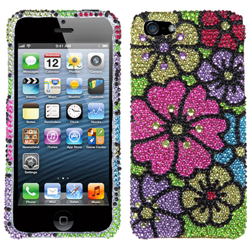 KTA 3D iPhone 5SE/5s Bling Rhinestone Cover