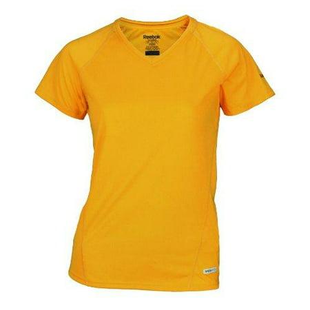 Reebok SpeedWick Women's Athletic Fitted Tee, Gold