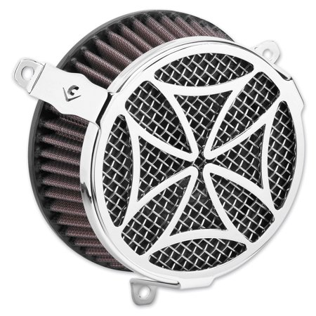 Cobra Air Cleaner Kit Cross Chrome -