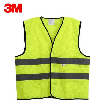 V10M0 High Visibility Reflective Vest Working Clothes Safety Waistcoat Motorcycle Cycling Warning Day Night