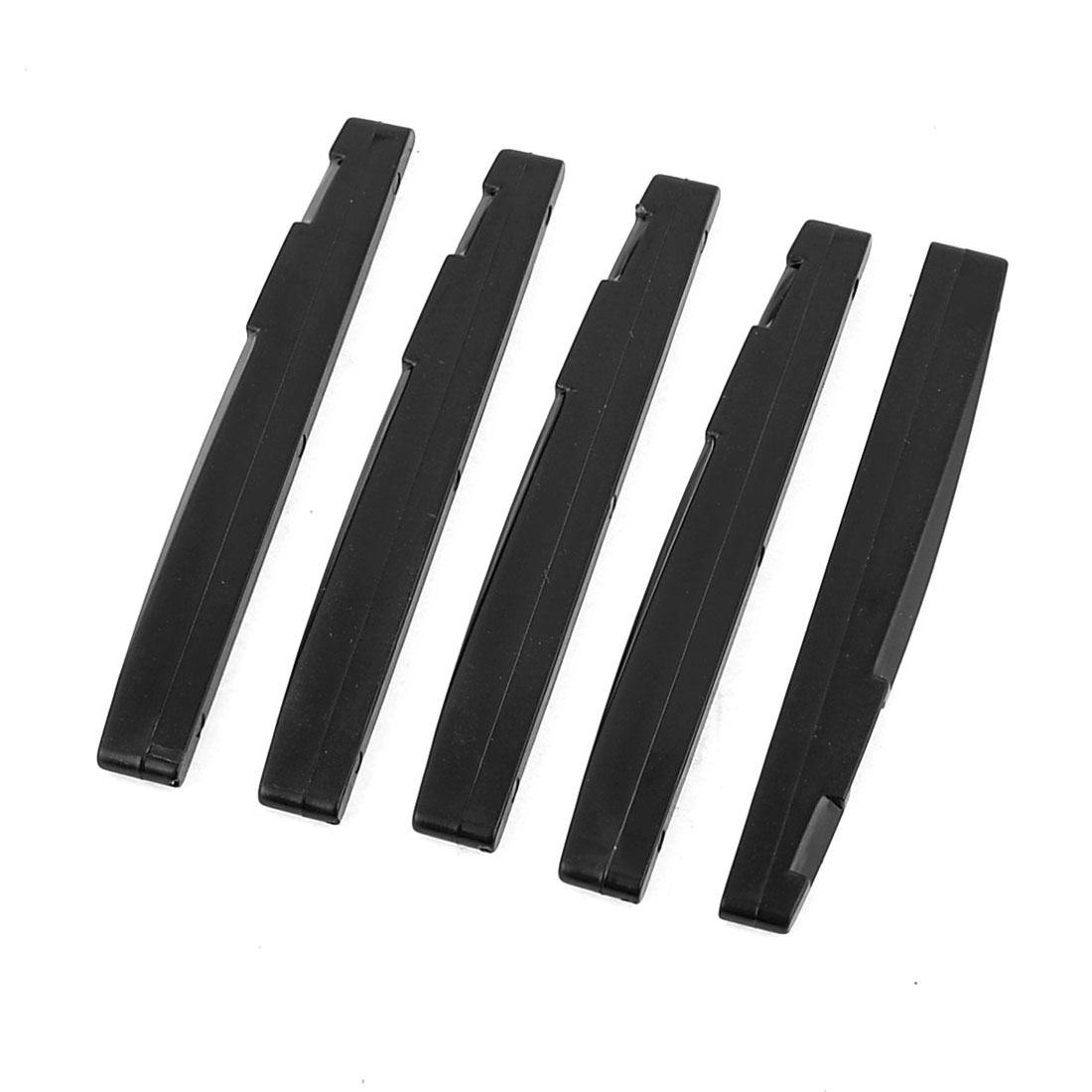 3 Pieces Black Bridge Saddle Nut Replacement for Classical Guitar