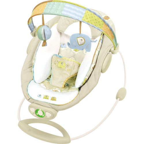 Bright Starts - InGenuity Automatic Bouncer, Kashmir