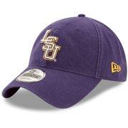 LSU Tigers New Era Team Core 9TWENTY Adjustable Hat - Purple - OSFA