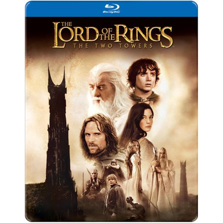 The Lord Of The Rings  The Two Towers  Blu Ray   Steelbook Packaging   Widescreen