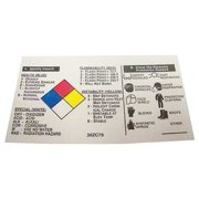 Badger Tag & Label Corp 109 3-1/2 in. W x 2 in. H NFR Label - Pack of 25