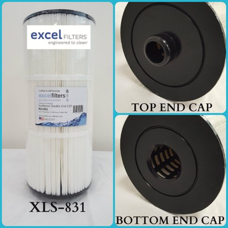Excel Filters Xls 831 Sundance Spas Double End Pool Filter Cartridge Replacement For Unicel C 8326  Filbur Fc 2780  Pleatco Psd125 2000