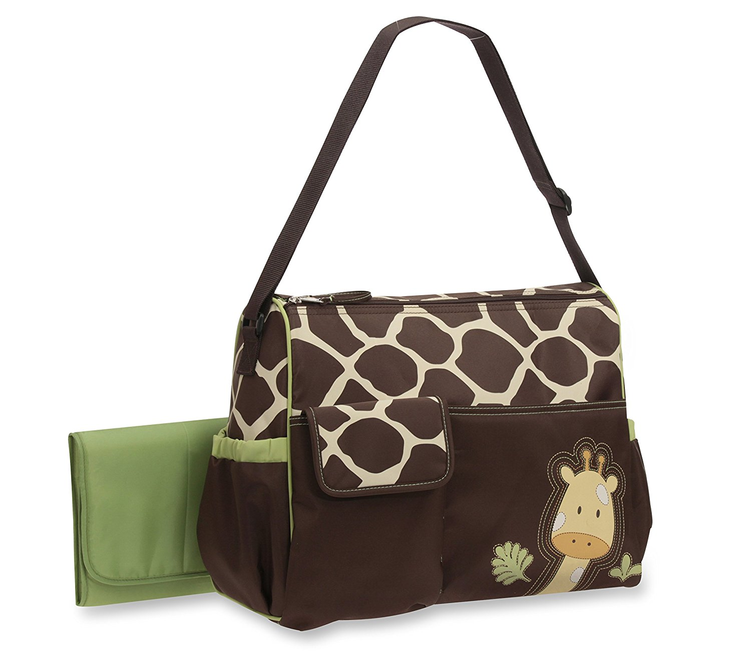 Ba Boom Duffel Diaper Bag, Giraffe..., By Baby Boom Ship from US by Baby Boom