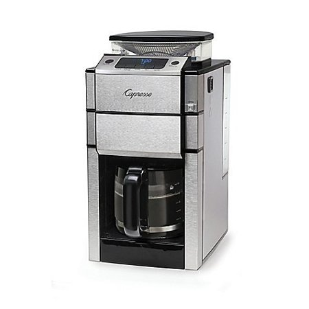 Jura Capresso Coffee TEAM PRO Plus 487.05 12-Cup Coffee Maker in Stainless Steel