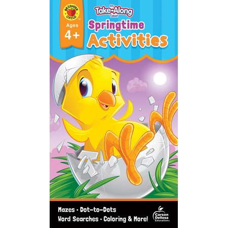 Springtime Activity - My Take-Along Tablet Springtime Activities, Ages 4 - 5