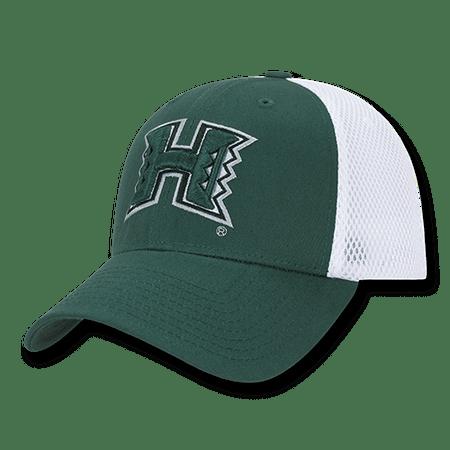 c4343589 NCAA Hawaii University Rainbow Warriors Structured Mesh Flex Baseball Caps  Hats - Walmart.com