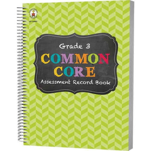 Common Core Assessment Record Book, Grade 3