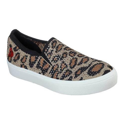 Skechers Poppy Lux Leopard Slip On