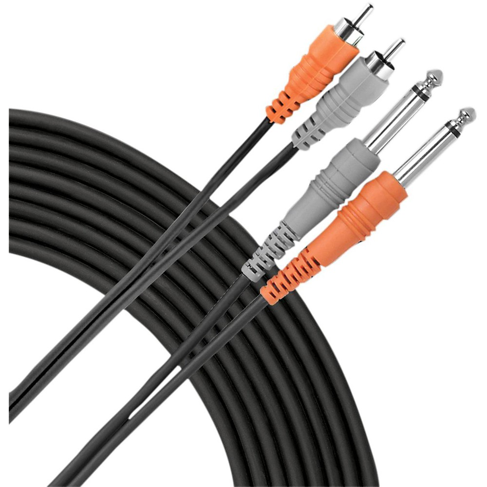 "Livewire RCA-1/4"" Dual Patch Cable  4 Meters"