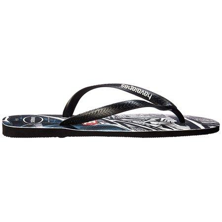 16da05c82 Havaianas Mens marvel Slip On Open Toe Flip Flops - image 1 of 2 ...