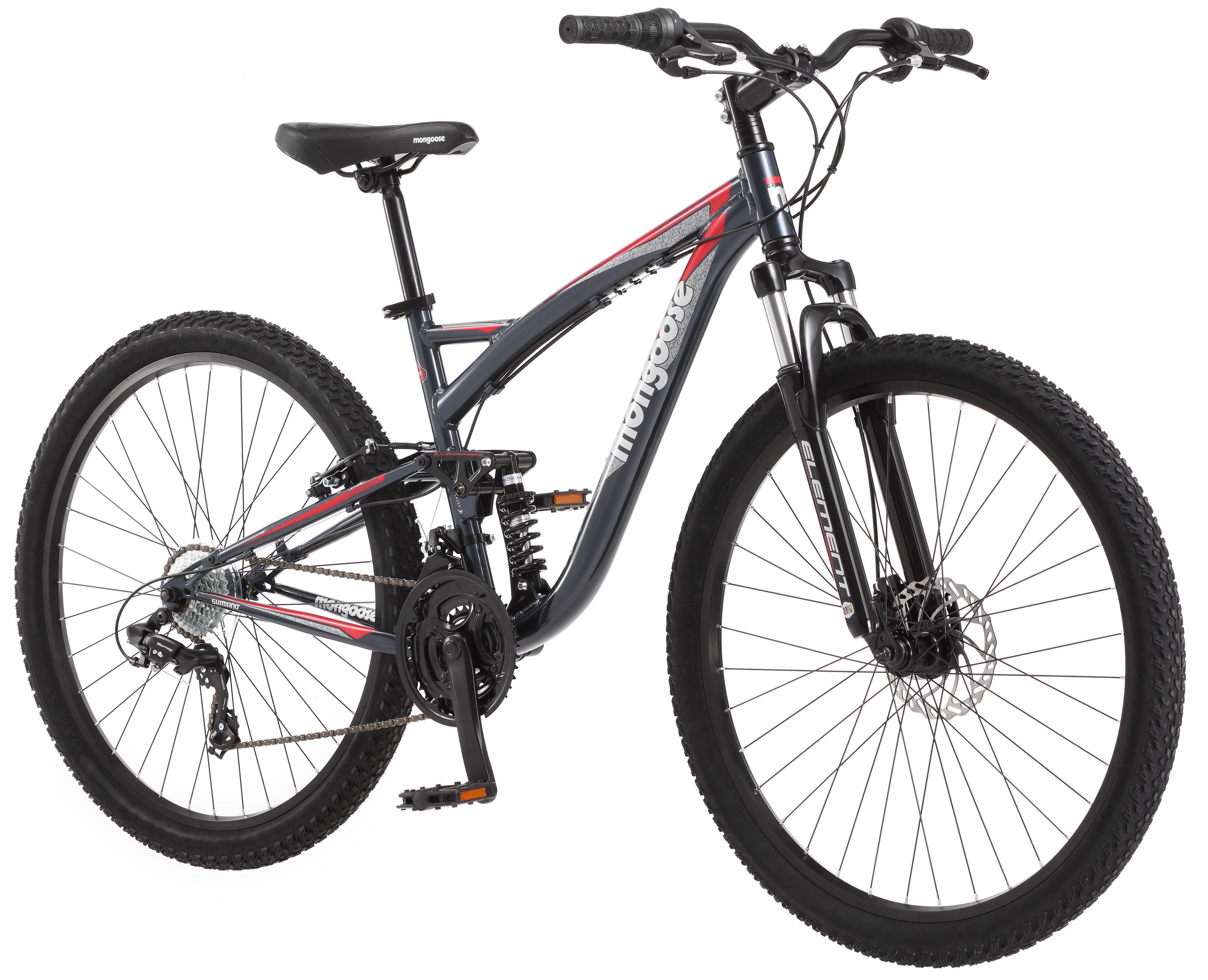 Mongoose Mens Status 2 4 27 5 Wheel Full Suspension Bicycle Steel