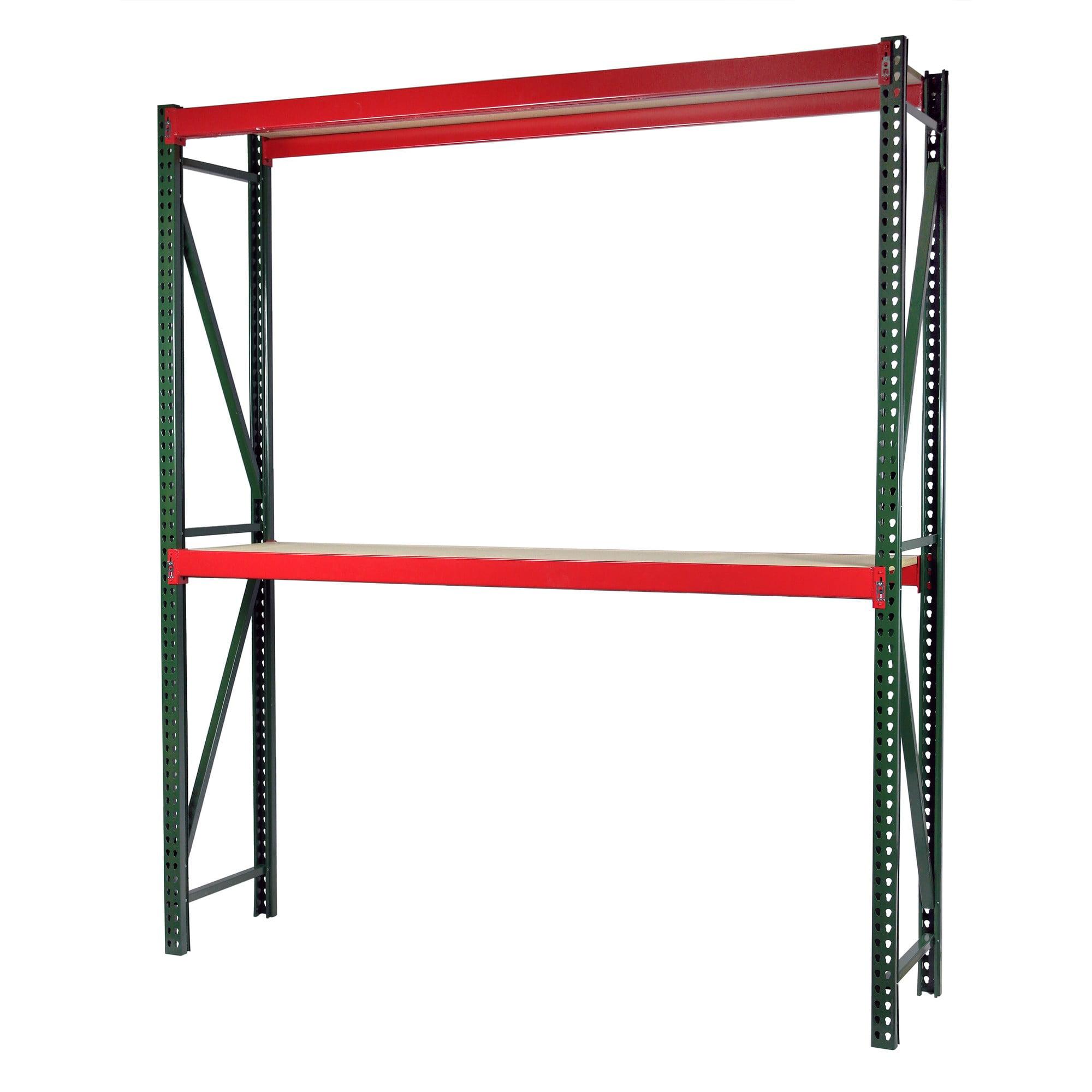 Storage Max Bulk Rack Shelving, 96 x 48 x 120, Heavy Duty