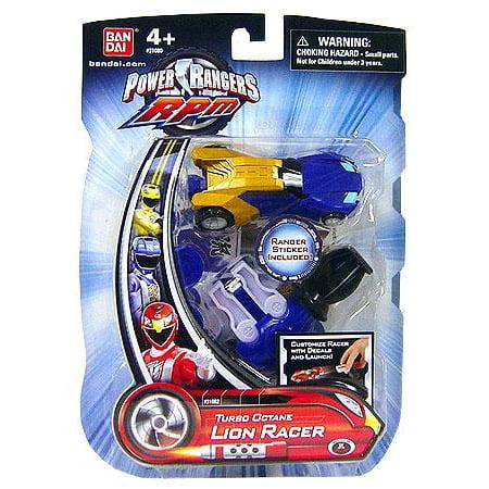 Power Rangers RPM Turbo Octane Lion Racer Action Figure ()