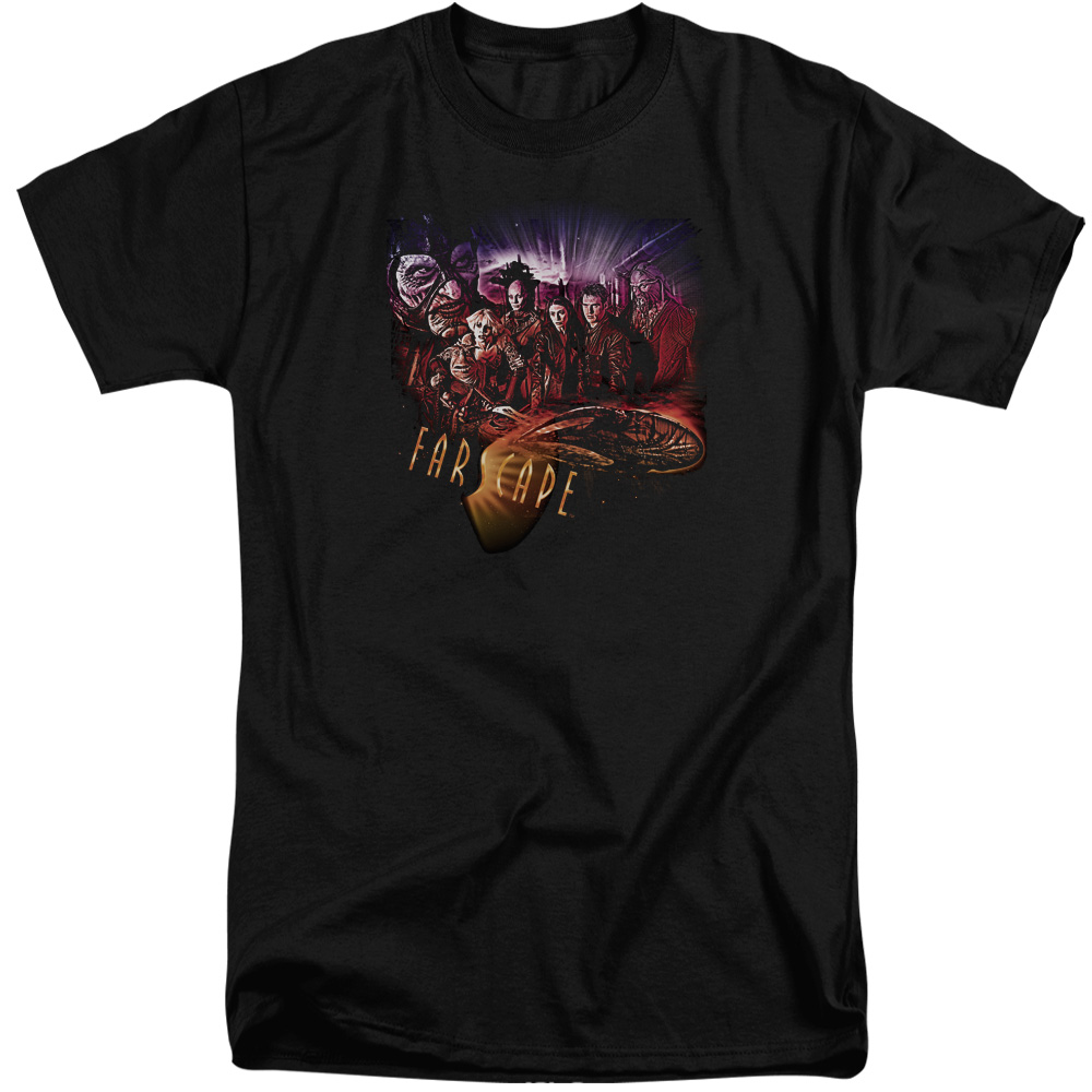 Farscape Graphic Collage Mens Big and Tall Shirt