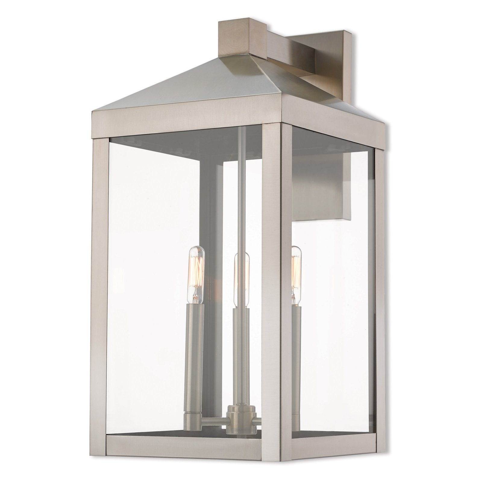 Livex Lighting Nyack 3 Light Outdoor Wall Lantern