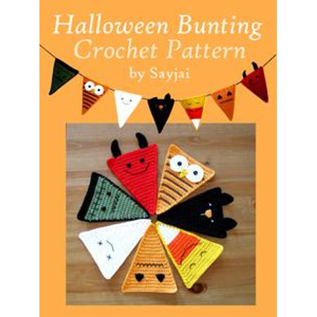 Halloween Bunting Crochet Pattern - eBook - Halloween Bunting Crochet Pattern