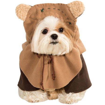 Dog Star Wars Ewok Pet Dress Up Funny Halloween Costume - Halloween Costume Idea Funny