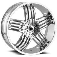 "Mazzi 368 Entice 22x9.5 5x115/5x5.5"" +18mm Chrome Wheel Rim 22"" Inch"