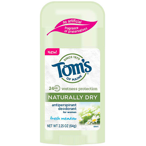 Tom's of Maine Naturally Dry Fresh Meadow Antiperspirant & Deodorant for Women, 2.25 oz