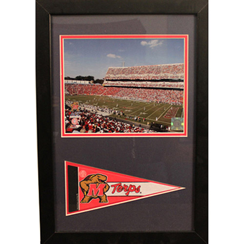 NCAA Maryland Pennant Frame, 12x18