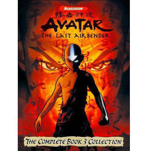 Avatar, The Last Airbender: The Complete Book 3 Collection (DVD)