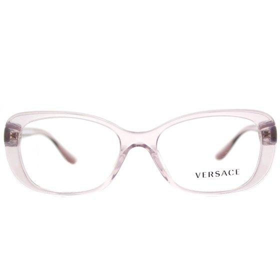 54e383615e2c Versace VE3234B 5223 51mm Women's Rectangle Eyeglasses - Walmart.com