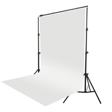 Zimtown 5x10 FT Screen 100% Non-woven Fabric Backdrop Photo Photography Background White - image 6 de 8
