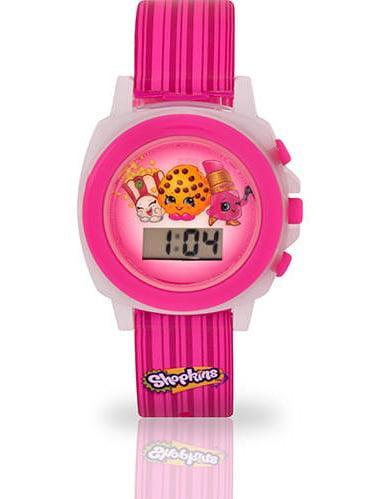Kids' Shopkins Flashing LCD Watch