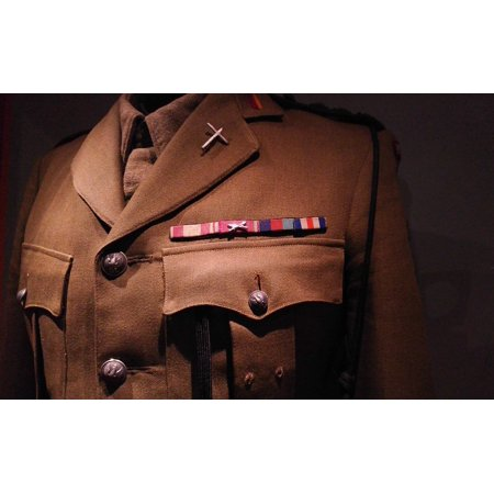 - LAMINATED POSTER Uniform Decorations Medal Military Poster Print 24 x 36
