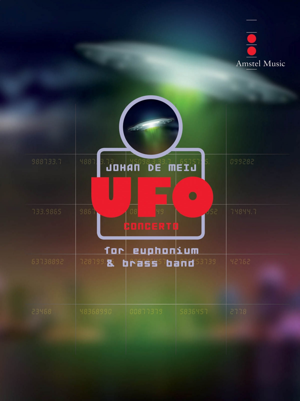 Amstel Music UFO Concerto (for Euphonium and Brass Band) Concert Band Level 5 Composed by... by Amstel Music
