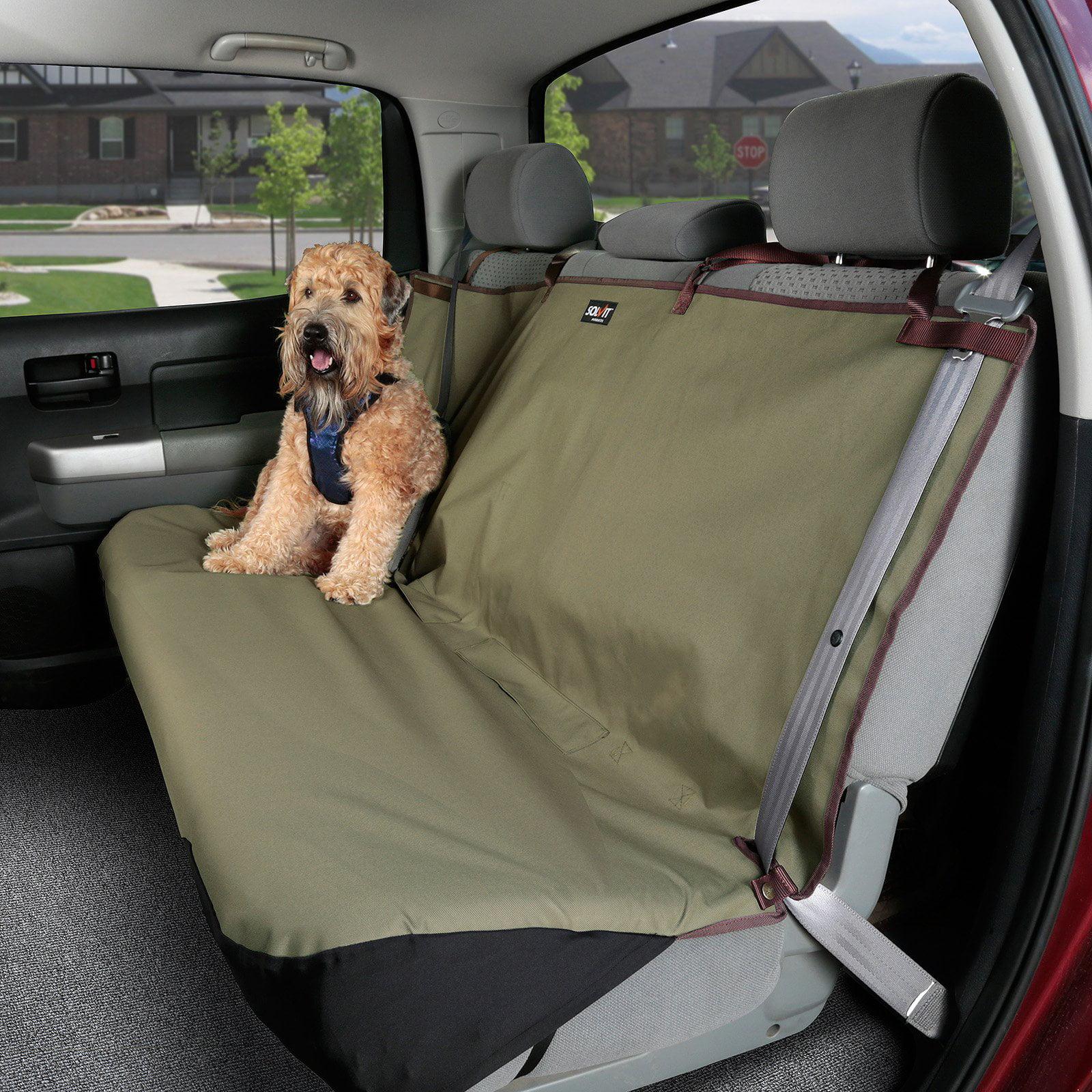 Solvit Sta-Put Bench Pet Seat Cover - Standard - 56L x 47W in.
