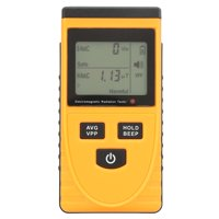 Tebru Electromagnetic Radiation Detector, Digital LCD Electromagnetic Radiation Detector Dosimeter Tester Meter Counter, Radiation Detector