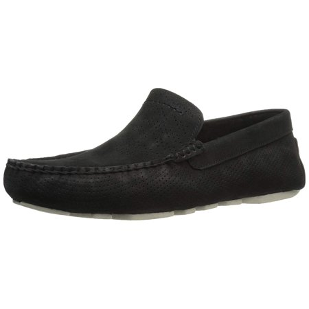 Ugg Men's Henrick Stripe Perf Boat Shoe, Black, Size 8.0 - Ugg Shoe Size Chart