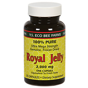 100% Pure Freeze Dried Royal Jelly 2,000 mg (Ultra Mega Strength) - 35 Capsules