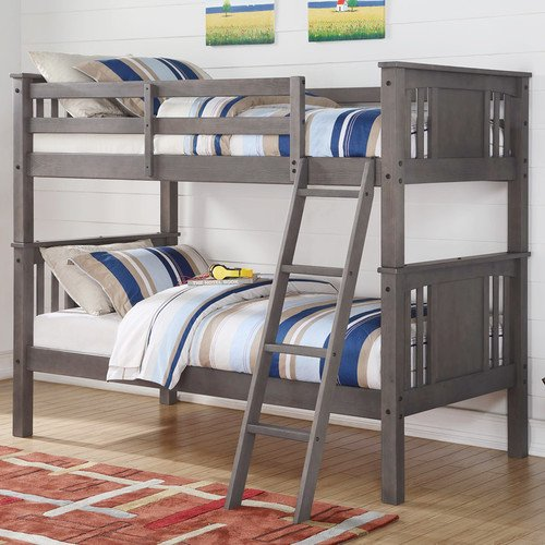 Donco Kids Princeton Twin Over Twin Bunk Bed Walmart Com