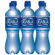 Deja Blue Purified Drinking Water, 16.9 Fl. Oz., 6 Count