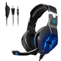 Electronic Sports Gaming Headset Mic Stereo Surround Headphone for PS4 Xbox One PC Computer Phone
