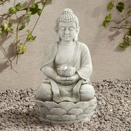 Buddha Outdoor Fountain (John Timberland Sitting Buddha 22
