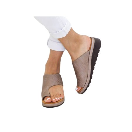 Avamo Womens Fashion Wedge Sandals - Ladies Slip Ons Flip Flops Spring Summer Holiday Shoes