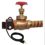 BRISKHEAT HSTAT102004 Heating Tape, Adjustable Thermostat Control, 240VAC,