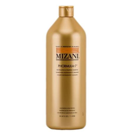 Mizani Phormula-7 Neutralizing & Chelating Shampoo - Size : 33.8 oz / liter (Shampoo Liter Pump)